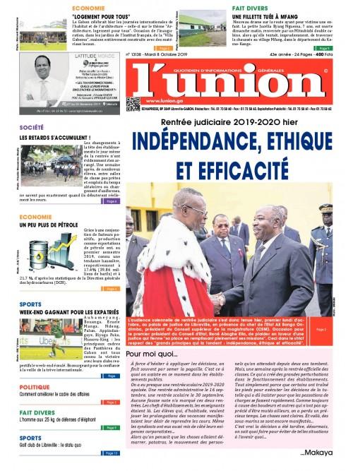 L'Union 08/10/2019