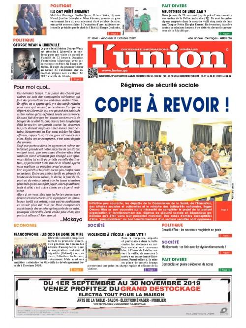 L'Union 11/10/2019
