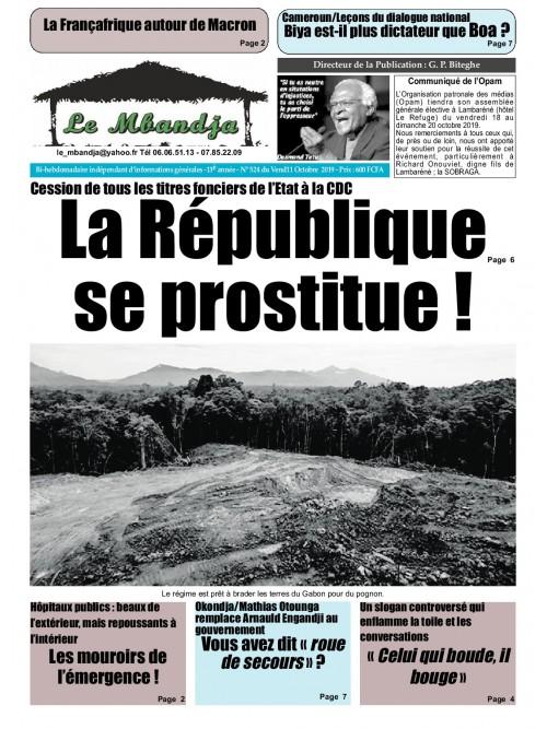 Le Mbandja 11/10/2019