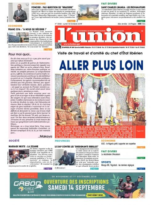 L'Union 14/10/2019