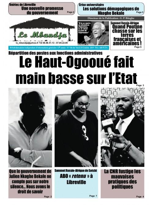 Le Mbandja 25/10/2019