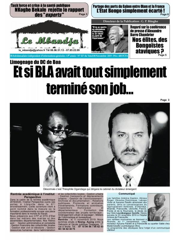Le Mbandja 08/11/2019