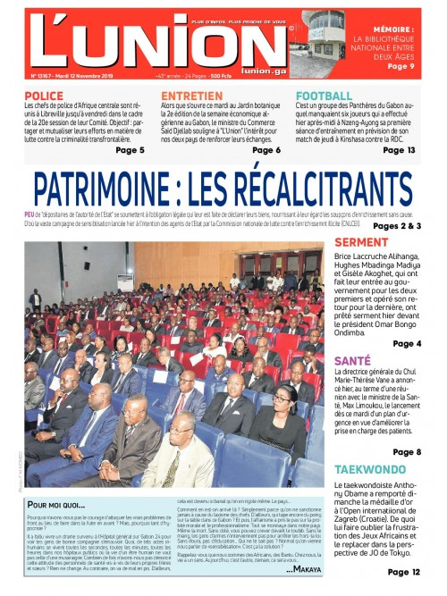L'Union 12/11/2019