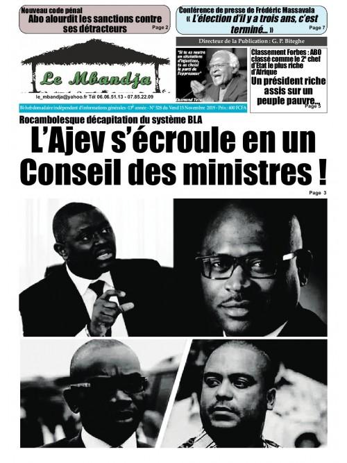 Le Mbandja 15/11/2019