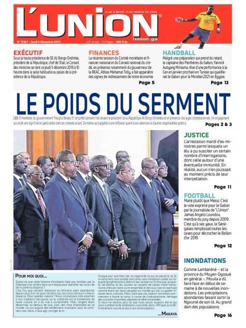 L'Union 05/12/2019