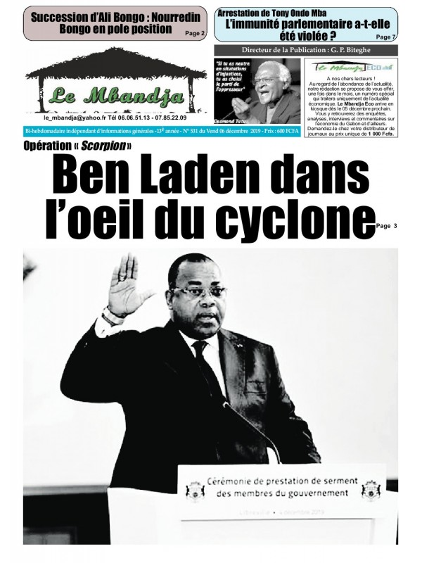 Le Mbandja 06/12/2019