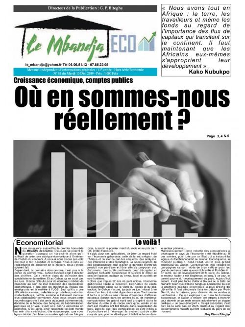 Le Mbandja 10/12/2019