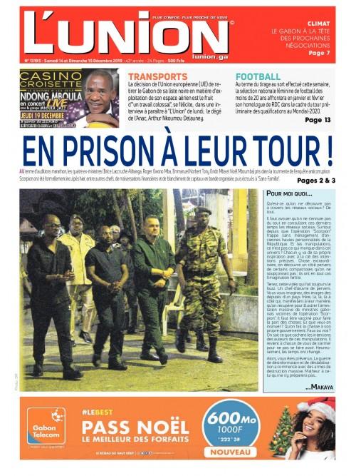 L'Union 14/12/2019