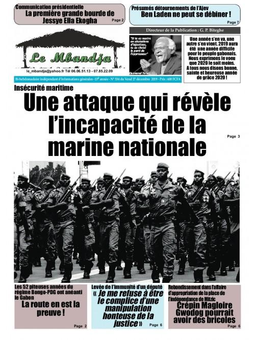 Le Mbandja 27/12/2019