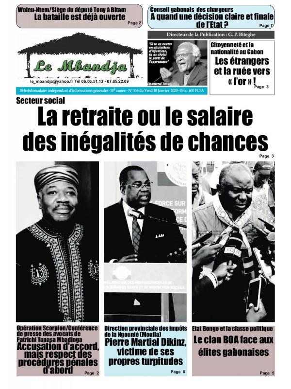 Le Mbandja 10/01/2020