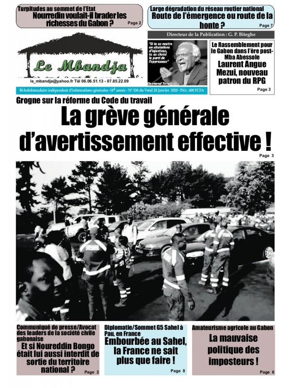 Le Mbandja 24/01/2020