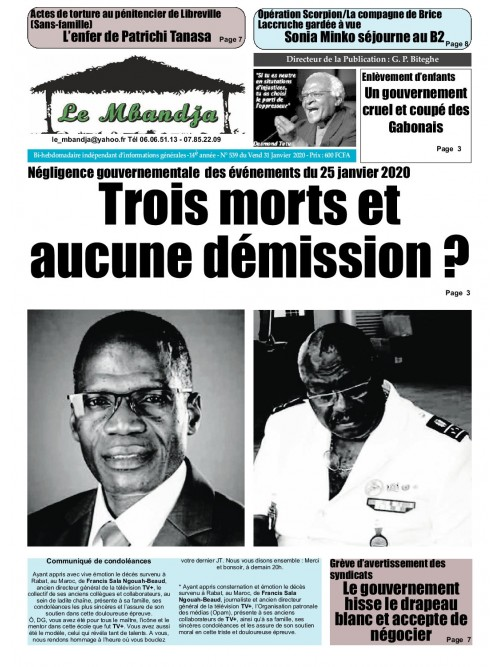 Le Mbandja 31/01/2020