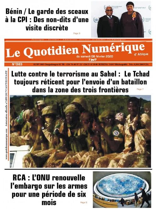 QUOTIDIEN NUMERIQUE D AFRIQUE  08/02/2020
