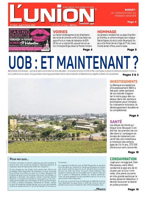 L'Union 13/02/2020