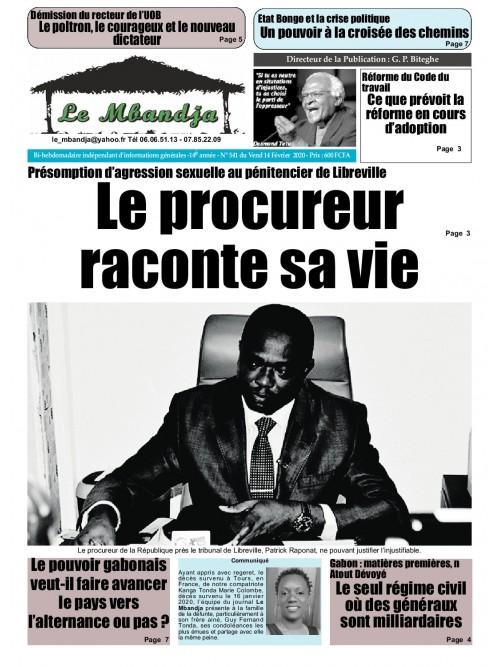 Le Mbandja 14/02/2020