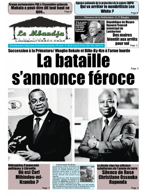 Le Mbandja 21/02/2020