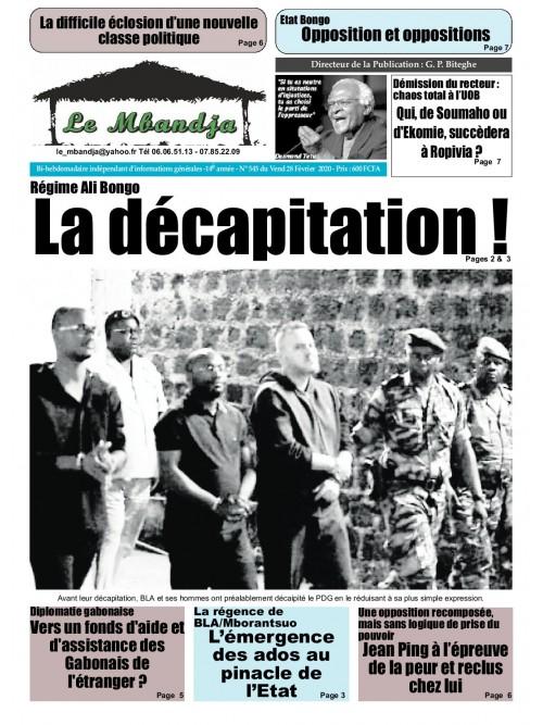 Le Mbandja 28/02/2020
