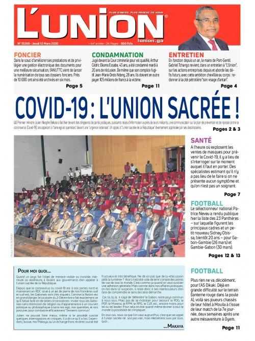L'Union 12/03/2020