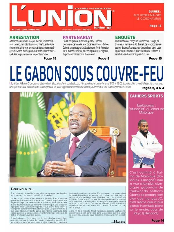 L'Union 23/03/2020