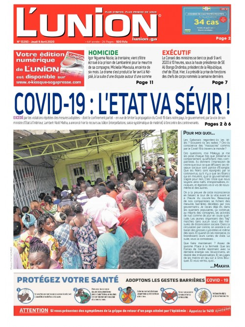 L'Union 09/04/2020