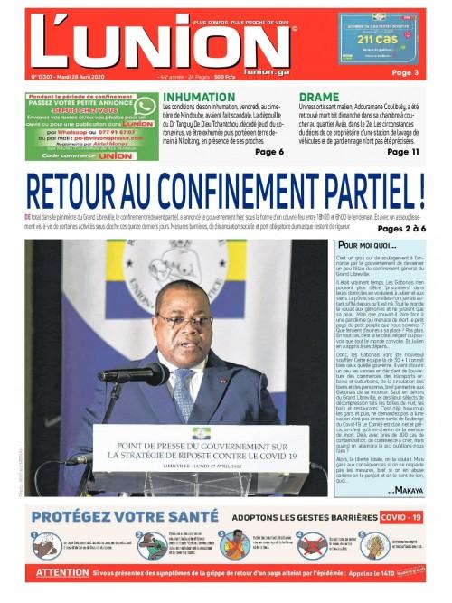 L'Union 28/04/2020