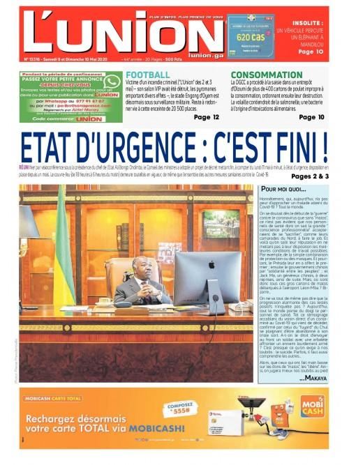 L'Union 09/05/2020