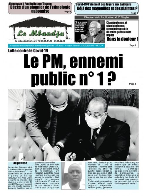 Le Mbandja 15/05/2020