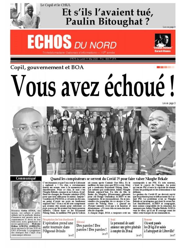 Echos du Nord 11/05/2020