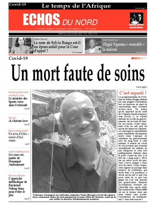 Echos du Nord 05/05/2020