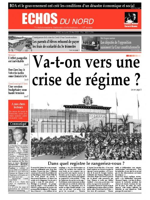 Echos du Nord 25/05/2020