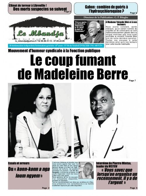 Le Mbandja 29/05/2020