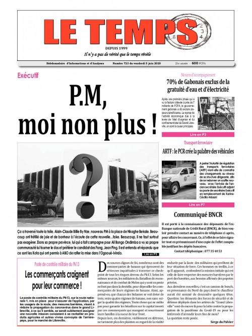 Le Temps  05/06/2020