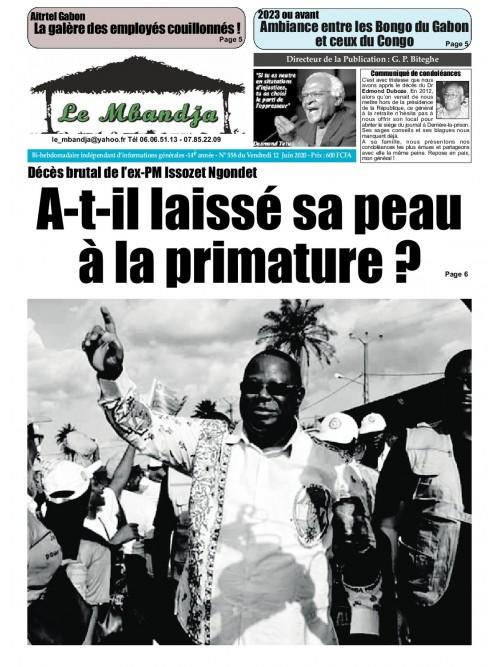Le Mbandja 12/06/2020