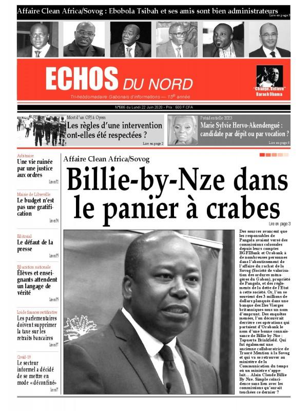 Echos du Nord 22/06/2020