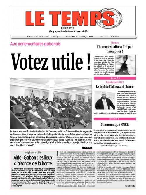 Le Temps  25/06/2020