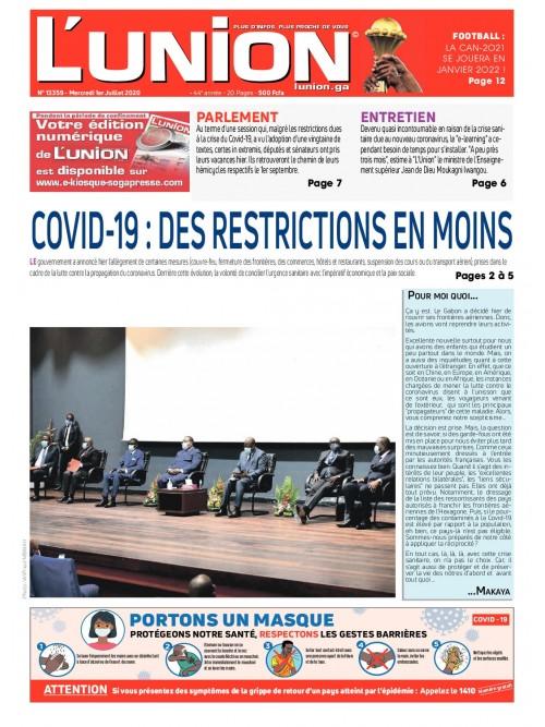 L'Union 01/07/2020