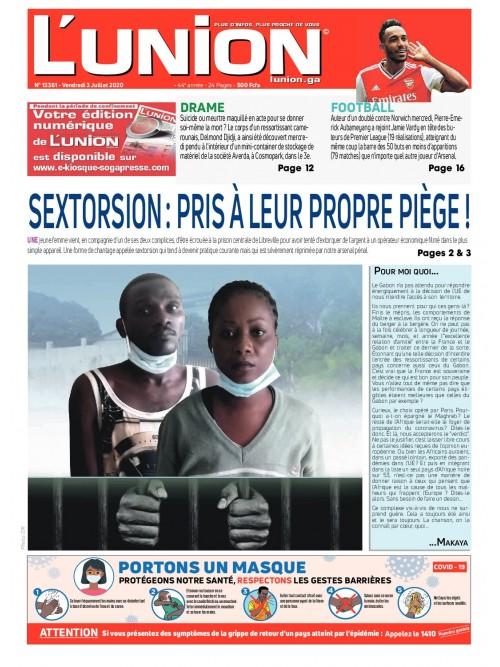 L'Union 03/07/2020