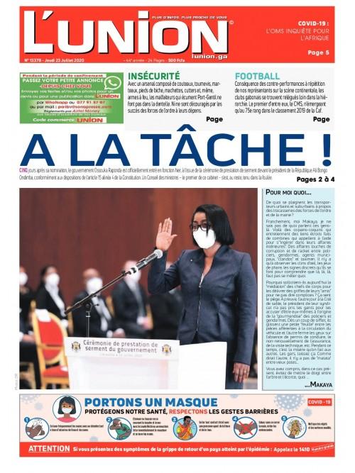 L'Union 23/07/2020