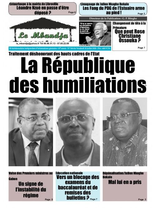 Le Mbandja 24/07/2020