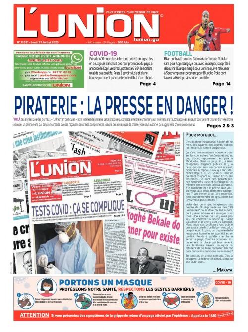 L'Union 27/07/2020