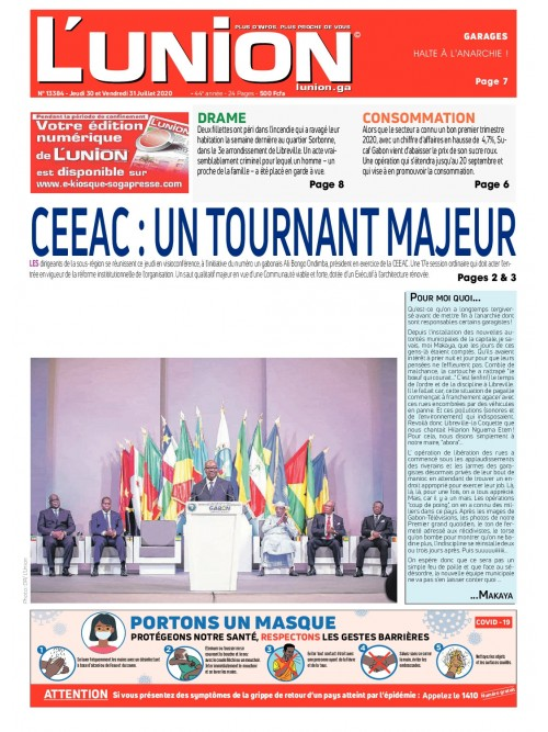 L'Union 30/07/2020