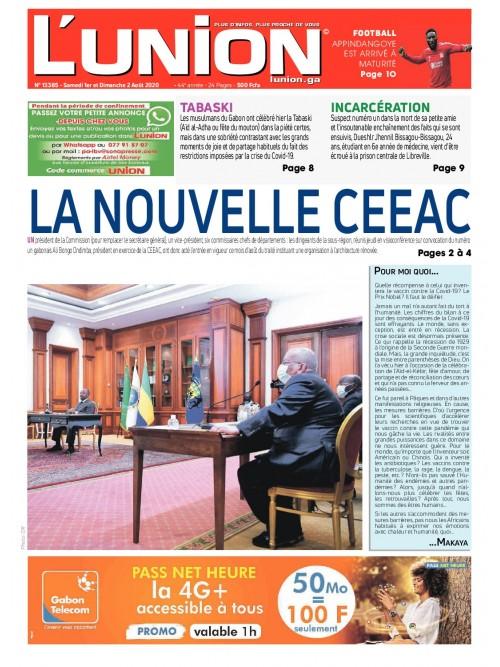 L'Union 01/08/2020