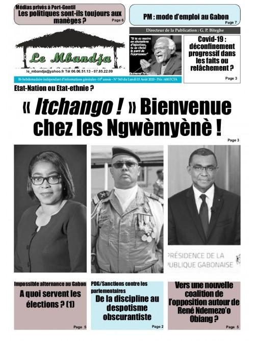 Le Mbandja 03/08/2020