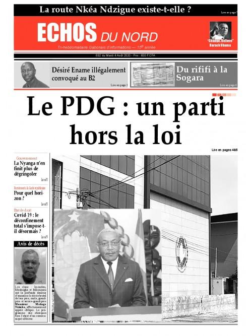 Echos du Nord 04/08/2020