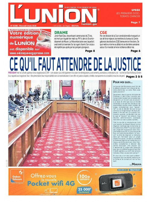 L'Union 05/08/2020