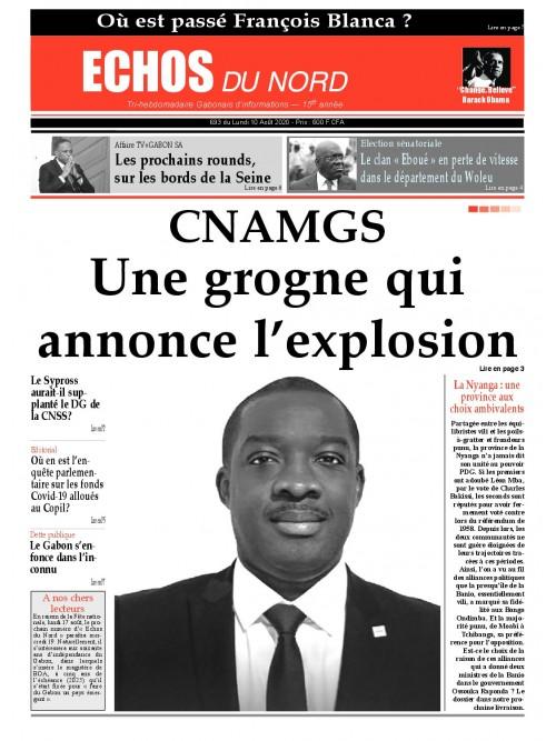 Echos du Nord 10/08/2020