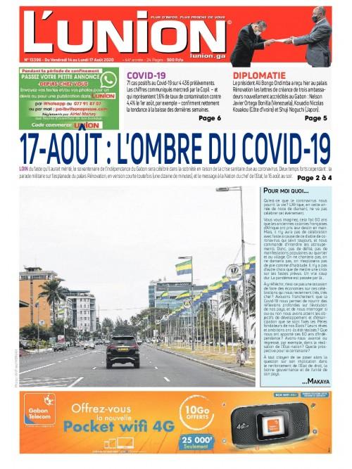 L'Union 14/08/2020