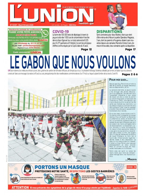 L'Union 18/08/2020