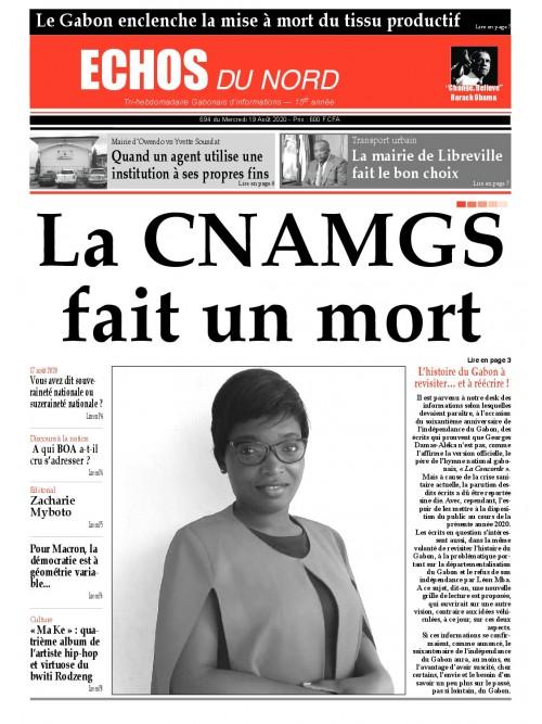 Echos du Nord 19/08/2020