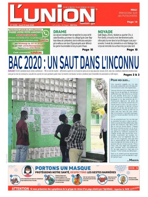 L'Union 20/08/2020